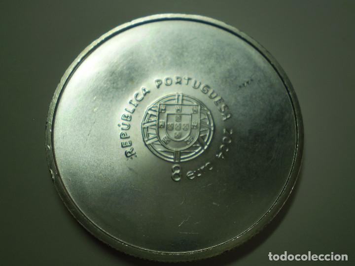 Monedas antiguas de Europa: 8 EUROS PLATA 2004 PORTUGAL. Eurocopa Futbol 2004 - Score (Excelente estado) - Foto 2 - 186027830