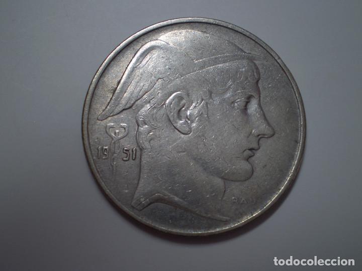 20 FRANCS PLATA BELGICA 1951. ( FRANCOS BELGAS) (Numismática - Extranjeras - Europa)