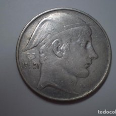 Monedas antiguas de Europa: 20 FRANCS PLATA BELGICA 1951. ( FRANCOS BELGAS). Lote 186028400