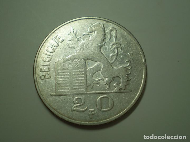 Monedas antiguas de Europa: 20 FRANCS PLATA Belgica del 1949. (Francos Belgas) - Foto 2 - 186028472