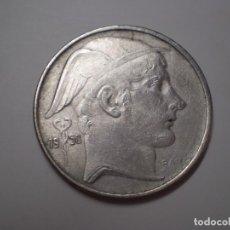 Monedas antiguas de Europa: 20 FRANCS PLATA BELGICA DEL 1950. (FRANCOS BELGAS). Lote 186028523
