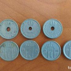 Monedas antiguas de Europa: NORUEGA: LOTE DE 8 MONEDAS DE 10 ORE, DE HAAKON VII (1939 A 1957). Lote 186151951