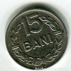 Monedas antiguas de Europa: RUMANIA 15 BANI AÑO 1960. Lote 186355605