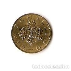 Monedas antiguas de Europa: 1 CHELIN AUSTRIA 1991 - 10 CHELINES AUSTRIA 1991 - 5 CHELINES AUSTRIA 1990. Lote 187108368