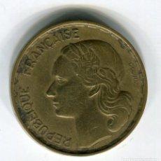 Monedas antiguas de Europa: FRANCIA 50 FRANCOS AÑO 1953. Lote 187584846