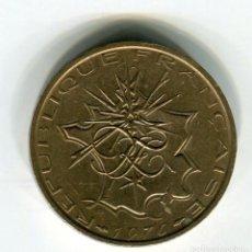 Monedas antiguas de Europa: FRANCIA 10 FRANCOS AÑO 1976 (2). Lote 187586298