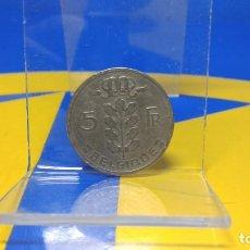 Monedas antiguas de Europa: MONEDA 5 FRANCOS - BELGICA -1962 - . Lote 187586967