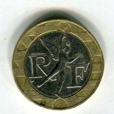 Monedas antiguas de Europa: FRANCIA 10 FRANCOS AÑO 1989 (1). Lote 187589098