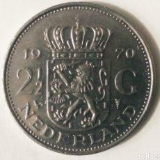 Monedas antiguas de Europa: 2 G. 1970 HOLANDA. Lote 187592056