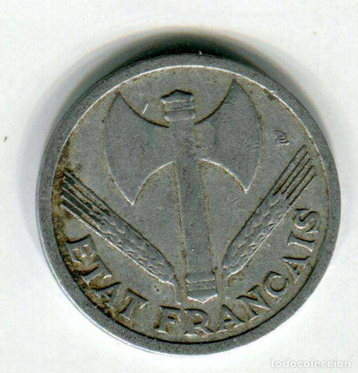 Monedas antiguas de Europa: FRANCIA 1 FRANCO AÑO 1943 - Foto 2 - 188525763