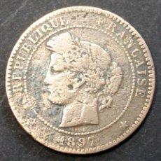 Monedas antiguas de Europa: MONEDA 10 CENTIMES FRANCE - 1897. Lote 188809971