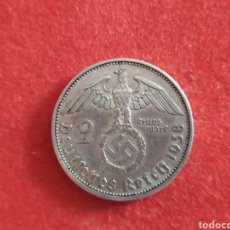 Monedas antiguas de Europa: MONEDA DE PLATA, 2 REICHSMARK, 1938 A, ALEMANIA. Lote 189161936
