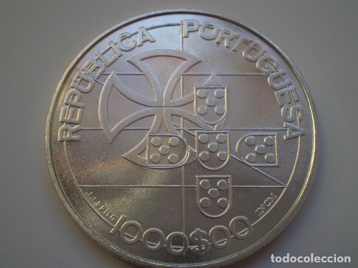 Monedas antiguas de Europa: 1000 ESCUDOS PLATA 1998 PORTUGAL. Liga dos combatentes 1923. S/C - Foto 2 - 189341471