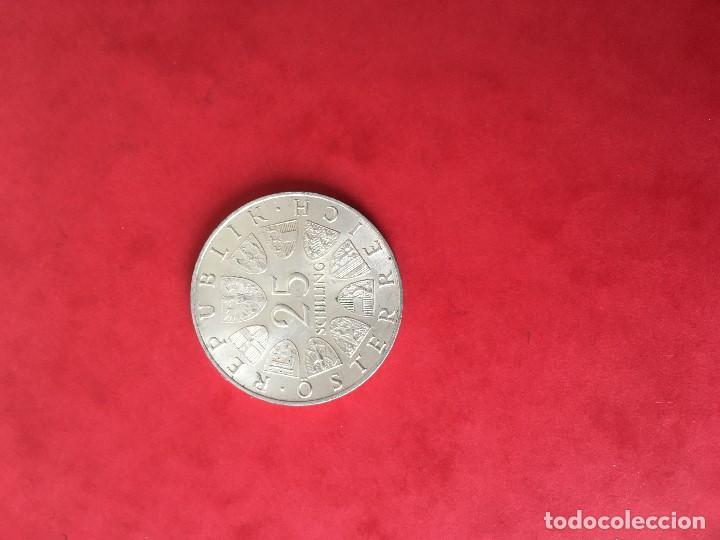 25 SCHILLING DE PLATA DE AUSTRIA (Numismática - Extranjeras - Europa)