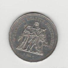 Monedas antiguas de Europa: FRANCIA- 50 FRANCOS 1979-SC-PLATA. Lote 190392098