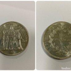 Monnaies anciennes de France: FRANCIA. 10 FRANCOS. 10 FRANCS. AÑO 1967. MONEDA DE PLATA. VER FOTOS. . Lote 190427166