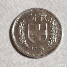 Monedas antiguas de Europa: SWITZERLAND - 5 FRANCS 1974 - MBC+/VG+. Lote 190491733