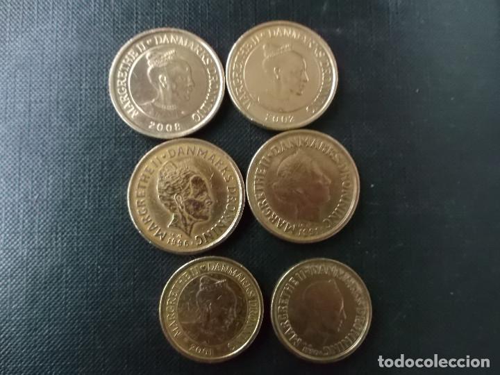 Monedas antiguas de Europa: conjunto de 6 monedas de 20 y 10 coronas de Dinamarca algunas conmeorativas - Foto 2 - 190693770