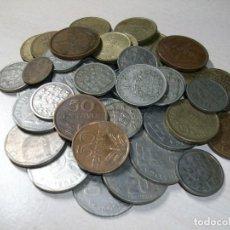 Monedas antiguas de Europa: ESCUDOS. LOTE DE 44 MONEDAS. PORTUGAL. AÑOS DE FABRICACIÓN DESDE 1933 HASTA 1990.. Lote 190735073