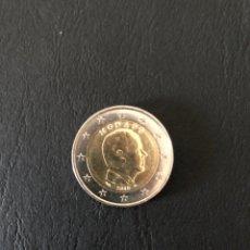 Monedas antiguas de Europa: MONEDA 2 EUROS MÓNACO MBC. Lote 190836083