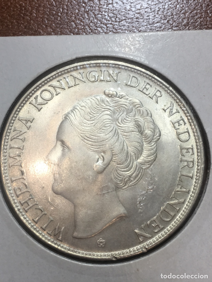 Monedas antiguas de Europa: Moneda plata curasao 1944 2 1/2 gulde - Foto 2 - 190841781