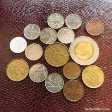 Monedas antiguas de Europa: FINLANDIA 16 MONEDAS TODAS DIFERENTES 1 5 10 20 25 PENNI 1 10 MARKKAA 1938 - 1995 FI-1. Lote 191009643
