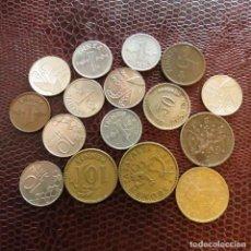 Monedas antiguas de Europa: FINLANDIA 16 MONEDAS TODAS DIFERENTES 1 5 10 20 50 PENNI 1 MARKKAA 1921 - 1995 FI-2. Lote 191009888