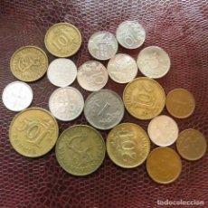Monedas antiguas de Europa: FINLANDIA 19 MONEDAS TODAS DIFERENTES 1 5 10 20 50 PENNI 1 MARKKAA 1951 - 1996 FI-4. Lote 191010383