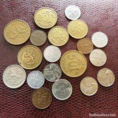 Monedas antiguas de Europa: FINLANDIA 19 MONEDAS TODAS DIFERENTES 1 5 10 20 50 PENNI 1 MARKKAA 1928 - 1993 FI-5. Lote 191010612