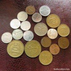 Monedas antiguas de Europa: FINLANDIA 19 MONEDAS TODAS DIFERENTES 1 5 10 20 50 PENNI 1 MARKKAA 1928 - 1993 FI-7. Lote 191011028
