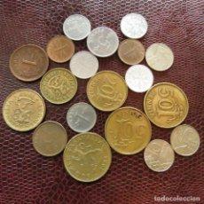 Monedas antiguas de Europa: FINLANDIA 19 MONEDAS TODAS DIFERENTES 1 5 10 20 50 PENNI 1 MARKKAA 1951 - 1990 FI-8. Lote 191011221
