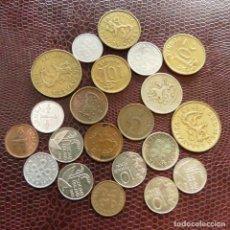 Monedas antiguas de Europa: FINLANDIA 21 MONEDAS TODAS DIFERENTES 1 5 10 20 50 PENNI 1 MARKKAA 1929 - 1996 FI-10. Lote 191011637