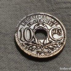 Monedas antiguas de Europa: FRANCE - 10 CENTIMES 1924 - MBC/VF. Lote 191133241