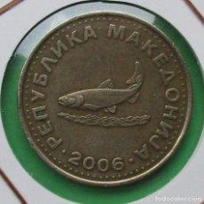 Monedas antiguas de Europa: MACEDONIA. MONEDA DE 2 DENAR. 2011.. Lote 191189342