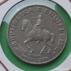 Monedas antiguas de Europa: ALBANIA. MONEDADE 50 LEKE. 2000.. Lote 191190425