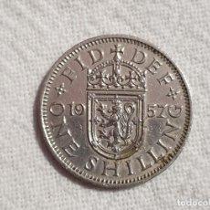 Monedas antiguas de Europa: UNITED KINGDOM - 1 SHILLING 1957 - EBC/EF. Lote 191350970