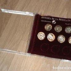 Monedas antiguas de Europa: COLECCIÓN DE LA PESETA EN PLATA INCOMPLETA. Lote 191441616
