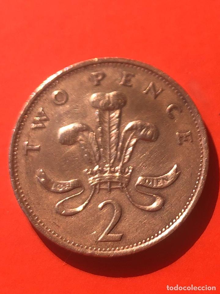 Monedas antiguas de Europa: 2 new pence 1988 E.B.C Reino Unido - Foto 2 - 191768272