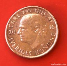 Monedas antiguas de Europa: 1 CORONA SUENCIA 2016. Lote 191859936