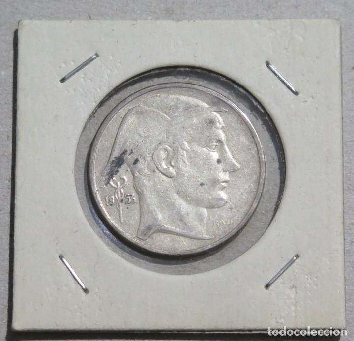 MONEDA. 20 FRANCOS. BELGICA. 1953 (Numismática - Extranjeras - Europa)
