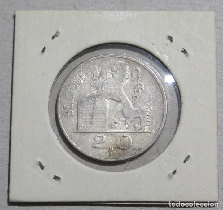 Monedas antiguas de Europa: MONEDA. 20 FRANCOS. BELGICA. 1953 - Foto 2 - 191917137