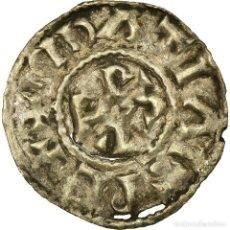 Monedas antiguas de Europa: MONEDA, FRANCIA, CHARLES LE SIMPLE, DENARIUS, 897-922, ARRAS, MBC, PLATA. Lote 191927541