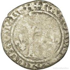 Monedas antiguas de Europa: MONEDA, FRANCIA, CHARLES VIII, KAROLUS OR DIZAIN, SAINT LÔ, BC+, VELLÓN. Lote 191929371