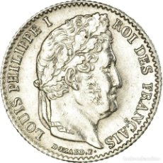 Monedas antiguas de Europa: MONEDA, FRANCIA, LOUIS-PHILIPPE, 1/4 FRANC, 1840, LILLE, EBC, PLATA, KM:740.13. Lote 191930362