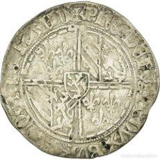 Monedas antiguas de Europa: MONEDA, BÉLGICA, FLANDERS, PHILIPPE LE BON, DOUBLE GROS VIERLANDER, BRUGES. Lote 191930368