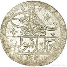 Monedas antiguas de Europa: MONEDA, TURQUÍA, SELIM III, YUZLUK, 1203//4 (1791), ISLAMBUL, MBC, PLATA. Lote 191931172