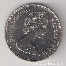 Monedas antiguas de Europa: MONEDA DE 25 NEW PENCE (NUEVO PENIQUES) DE INGLATERRA DE 1980. CUPRO-NÍQUEL. SIN CIRCULAR. (ME774). Lote 192462518