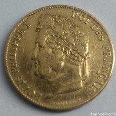 Monedas antiguas de Europa: 20 FRANCOS DE ORO LOUIS PHILIPPE I 1834 FRANCIA. Lote 192753325