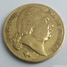 Monedas antiguas de Europa: 20 FRANCOS DE ORO LUIS XVIII 1819 FRANCIA. Lote 192753748