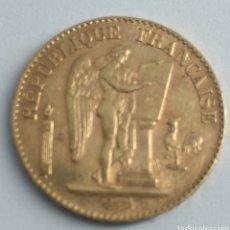 Monedas antiguas de Europa: REPÚBLICA FRANCESA 20 FRANCOS DE ORO 1896. Lote 192754378